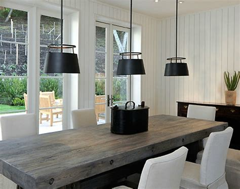 modern dining room green casual vibe Rustic