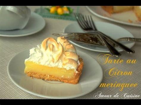 recette facile de la tarte au citron meringuée