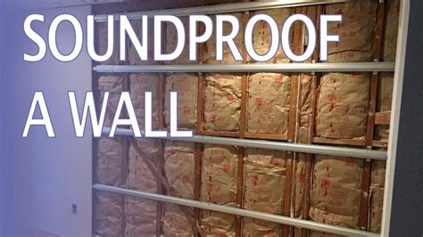 Soundproof A Wall How To (and Stop Hearing Noisy