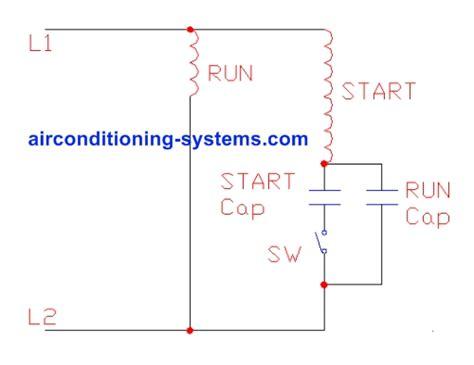 capacitor run motor diagram impremedia net