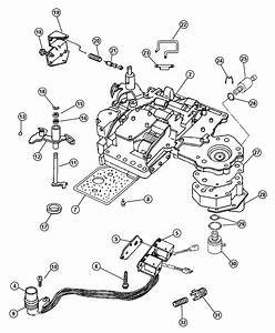 Dodge Durango Solenoid  Transmission Overdrive