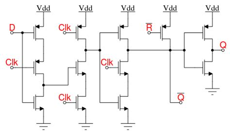 Academic Question About Wiring A D-type Flip Flop From