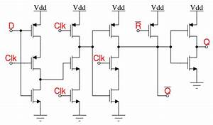 Academic Question About Wiring A D-type Flip Flop From Discrete Mosfets