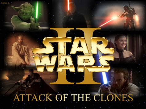 star wars attack   clones images episode ii attack