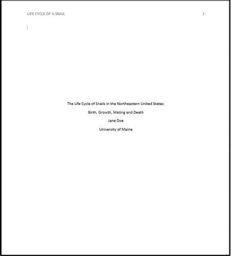 Apa Format Sixth Edition Template Apa Format Title Apa Title Page Template 6th Edition The Best Free