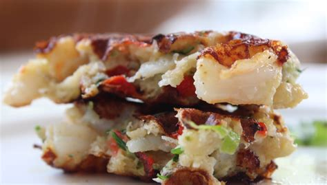 yummy shrimp cakes  delicious blog