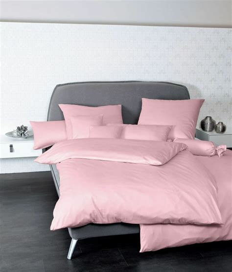 mako satin bettwäsche 155x200 mako satin bettw 228 sche 2 tlg 155x200 80x80 colors uni rosa ebay