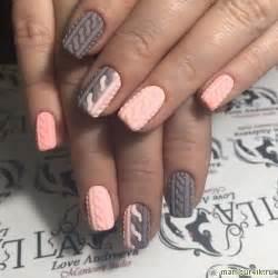 Trendy nail design fall winter nails