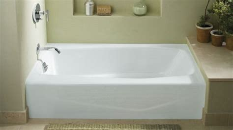 Kohler Villager Bathtub Specs by Kohler Alcove Tub Villager Model Cast Iron Bathrooms