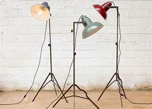 retro sstyle senk floor lamp made cheers massive With senk floor lamp white