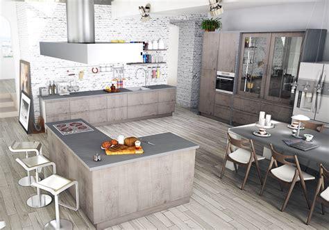 id馥 implantation cuisine exemple de cuisine ouverte cuisine ouverte sur salle