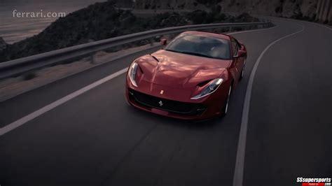 The New Ferrari 812 Goes Super Fast In Launch Trailer