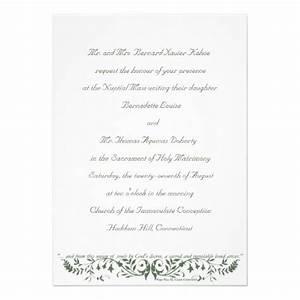 catholic wedding set invitation template cc christian With samples of catholic wedding invitation wording