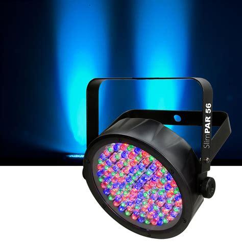 Light Wash by Chauvet Slimpar 56 Dmx Rgb Led Wash Light Pssl