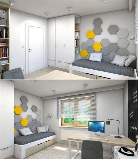 deco chambre petit espace déco petit espace gris