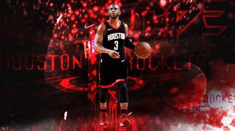 Chris Paul Houston Rockets Wallpaper Hd By Bktiem On