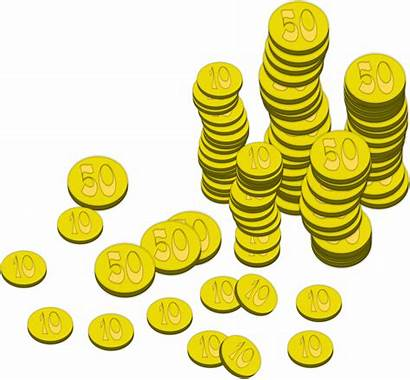 Money Coins Clipart Sign