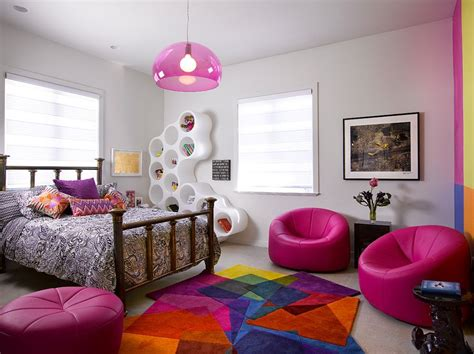 Trendy Ways To Add Color To The Contemporary Kids' Bedroom