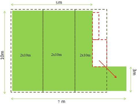 comment calculer la surface d une chambre comment calculer les mètres de gazon synthétique que je