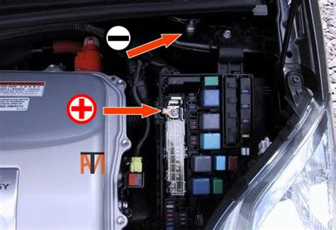 Prius Auxiliary Battery Location And Jump