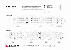 A340 500 Seating Chart Qantas Australian Airlines Aircraft Seatmaps Airline