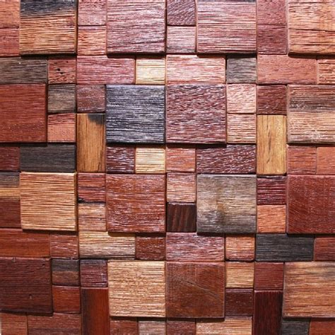 Holz Mosaik Fliesen by Wood Mosaic Tile Rustic Wood Wall Tiles Nwmt019