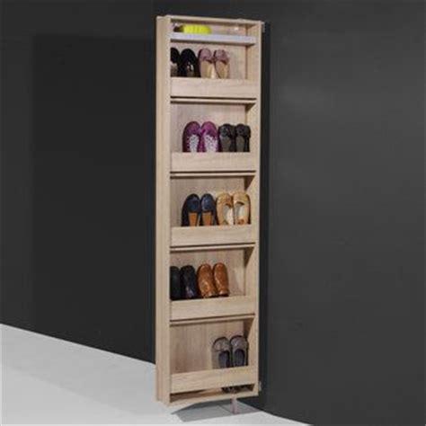 Solde Meubles Interiors by Meuble 224 Chaussures Pivotant 10 Paires Avec Miroir