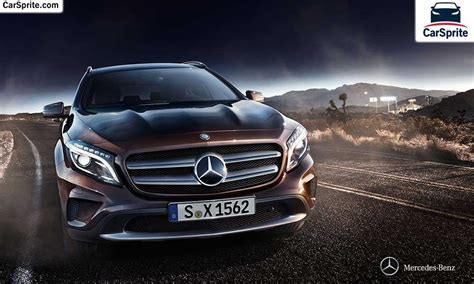 mercedes benz gla   prices  specifications