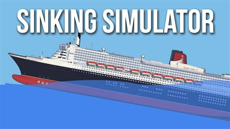 titanic sinking simulator ship sinking simulator the demise of the allmighty titanic