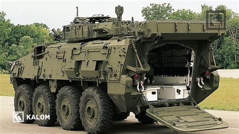 General Dynamics Stryker 8x8 Wheeled Multirole Armored ...