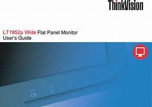 Lenovo Thinkvision Lt1952p Widescreen Lcd Monitor 2448mb6