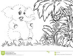 Elephant Jungle Coloring Page