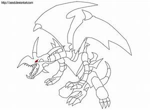 How to draw red eyed dragon