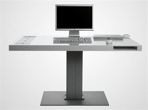 metal computer workstation desk minimalist modern computer desk with metal material