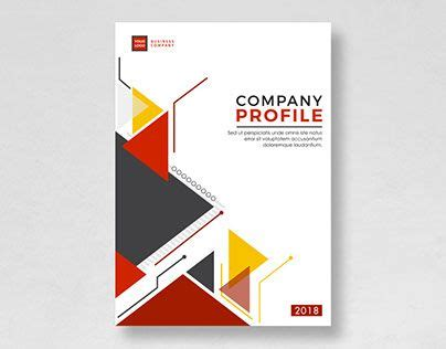 company profile cover page design template pin by hasaka haziq on free template pinterest company