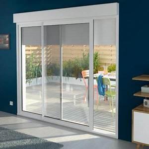 impressionnant porte coulissante interieur avec serrure 1 With porte de garage coulissante avec porte coulissante vitrée intérieure