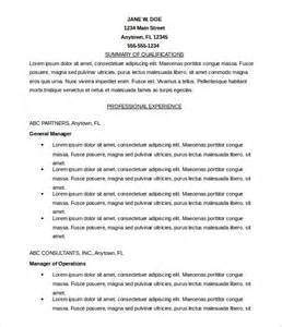 resume skills excel word microsoft templates 18 free word excel ppt pub access documents free