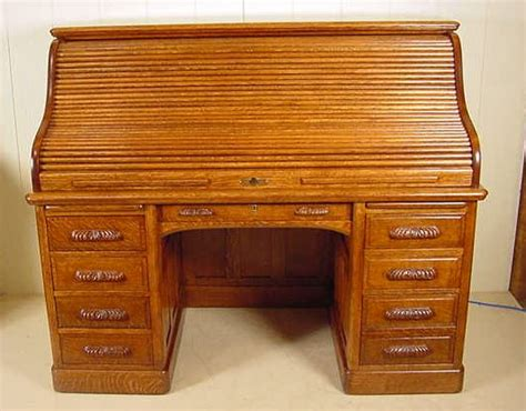 roll top desk craigslist 60 quot s roll top quartered oak desk