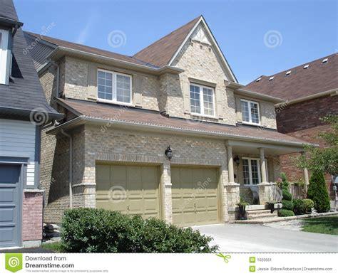 luxury craftsman style home plans garage on stylish brick house stock image image