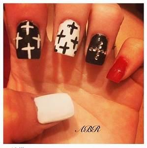 Nail Art Cross   Joy Studio Design Gallery - Best Design
