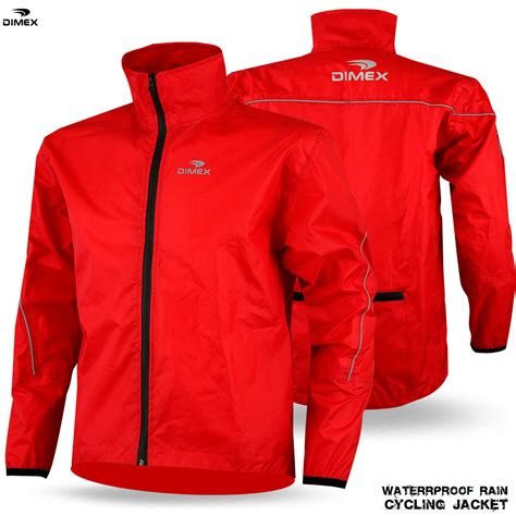 reflective waterproof cycling jacket mens cycling jacket high visibility waterproof running top
