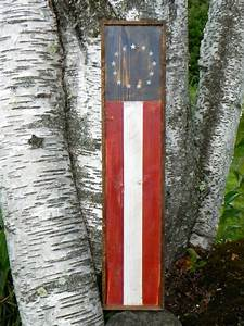 Rustic americana decor american flag and wall decor on for Best brand of paint for kitchen cabinets with american flag framed wall art