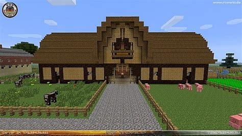 Animal Barn (tierstall) Minecraft Project