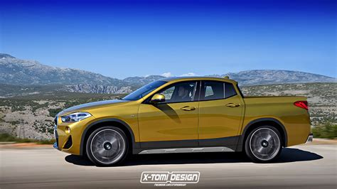 2019 bmw bakkie the concept of a bmw x2 bakkie may not be completely