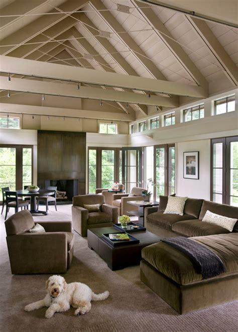 england vernacular contemporary living room