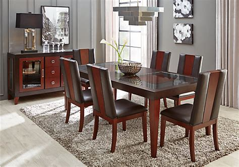 Sofia Vergara Dining Room Set by Sofia Vergara Savona Chocolate 5 Pc Dining Room Dining