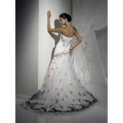 bargain wedding dresses corset wedding dresses black and white for cheap inofashionstyle