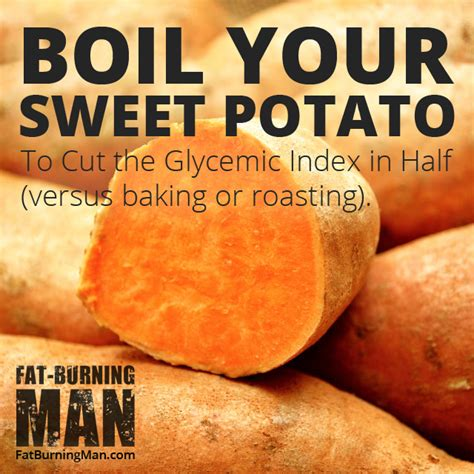 potato starch resistant glycemic food weight loss sweet index boiled fat gi diet healthy low calories lose potatoes foods starchy