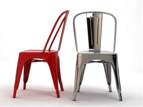 chaise de bar tolix a chair 3d model tolix steel design