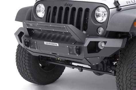 Go Rhino 230115102t Front Bumper With Straight End Caps